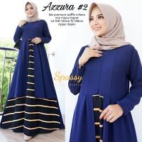 Baju Terusan Wanita Muslim Longdress Azzura Maxy Spy