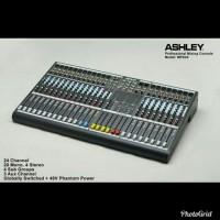 Mixer 24 Channel ASHLEY MPX24 MPX 24 ada 20 mono 4 sub 3 Aux
