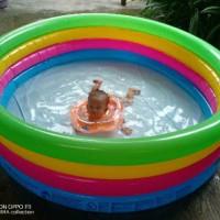 Kolam Renang Anak Besar Muat 3 Bestway Kids Baby Mainan Tiup Pool