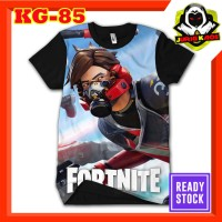Kaos Fortnite game Battle Royal Android Baju Anak dan Dewasa Murah