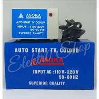 inverator asoka auto start tv. colour