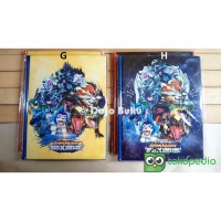 KOWA - Buku Album Kartu Animal Kaiser 144 Kartu 23 x 29 cm