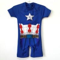 Chioda 7280 Baju Renang Captain America Baju Selam Anak Avengers