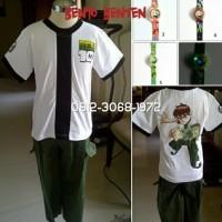 Baju Kostum Anak Karakter Superhero BEN10 BENTEN BEN 10 8-11 Tahun -