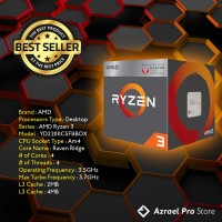AMD Ryzen 3 Raven Ridge 2200G 3.5Ghz - Processor AMD - Vega Graphic