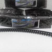 Terbaru Miniatur Kereta Api - Rel Lengkung Railking 1 Set Isi 10 Pcs