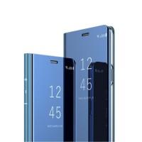 Case HP Samsung A70 Flip Case Cover Casing View Smart Mirror Flipcase