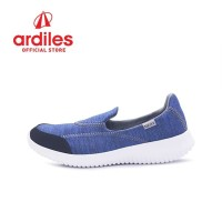 Neox by Ardiles Women Founda Sepatu Slip On - Biru Abu