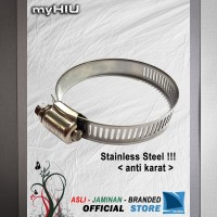"Kleman Selang 11 ~ 20 mm (3/4"" inch) - Hose Clamp Stainless Steel"