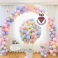 Balon Latex Macaron / Balon Warna Pastel 12inch Per pack 100pcs