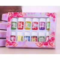 12Pcs Minyak Esensial oil Aroma terapi spa humidifier diffuser