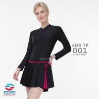 Baju Renang Wanita Rok Tangan Panjang Remaja Dewasa HDR-302