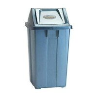 Tempat Sampah Tutup Goyang 42 Liter Lion Star C-1