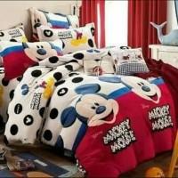 Sprei Katun Mickey Mouse Motif (ukuran bisa pilih divarian produk)
