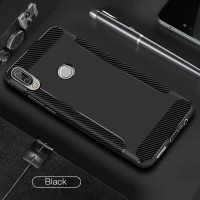 Asus Zenfone Max Pro M2 / Max M2 Soft Case Brushed Carbon Tpu Wing -