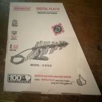 Indoor Antenna (Antena Dalam) Digital Flash UHF/VHF Model: S 019 D