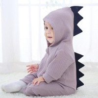 Baju bayi/ anak/ balita romper/jumpsuit/hoodie - Little Dino Romper