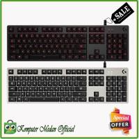 Keyboard Logitech G413 Silver - MECHANICAL BACKLIT GAMING KEYBOARD