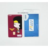 Kartu Flazz Bca Saldo 0 seri Superheroes Kartu - Wonder Woman