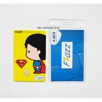 Kartu Flazz Bca Saldo 0 seri Superheroes Kartu - Superman