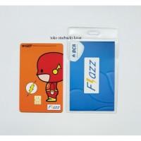 Kartu Flazz Bca Saldo 0 seri Superheroes Kartu - Flash