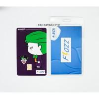 Kartu Flazz Bca Saldo 0 seri Superheroes Kartu - Joker