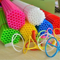 Stik Balon Besar Foil Display 40 cm 1 pcs / Stick / tongkat pesta