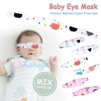 Kacamata Jemur Bayi / Penutup Mata Bayi / Eye Mask Baby Lanugo