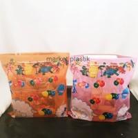 Tas Plastik Goodie Bag/Kantong Souvenir Ulang Tahun/Tas Ultah Tali