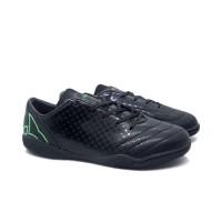 Sepatu Futsal Ortuseight Utopia IN (Black/Fluo Green)