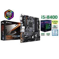 Paket Intel GEN8 Core I5 8400 Dan MOBO Gigabyte B360M Aorus Gaming 3