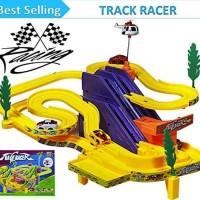 TRACK RACER MAINAN KERETA MOBIL LUNCUR - MAINAN BALAP MOBIL