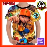 Kaos Boboiboy the Movie 2 Kartun TV Baju Anak Murah
