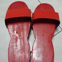 Sandal bakiak kayu