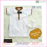 ZERLIN COLLECTION Baju Koko Jubah Gamis Anak Bayi Laki-laki Terbaru