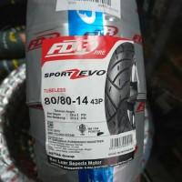 Ban motor matic FDR Sport Zevo 80/80 ring 14 New Gen mio xeon