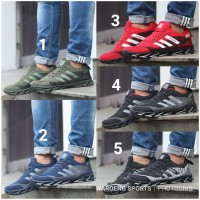 Sepatu Pria Adidas Springblade AX2 Men Sport Black Grey Navy Red Green
