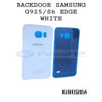 BACKDOOR/HOUSING SAMSUNG S6 EDGE WHITE