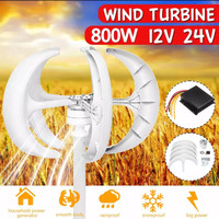 Pembangkit Listrik Tenaga Angin 800W PLTB Wind Turbine Vertical