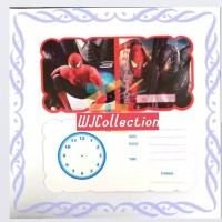 Kartu Undangan Lipat SPIDERMAN Ultah Ulang Tahun Anak Invitation card