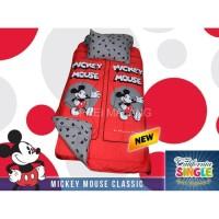 Sprei California / My Love uk 120x200 Mickey Mouse Classic