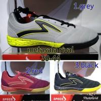 banting harga Sepatu Futsal Specs Metasala Rival Original BNIB - Abu-