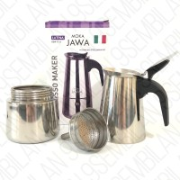 Latina REW-1112 Moka Jawa - Mokapot 300ml - Moka Pot 6 Cup 300 ml