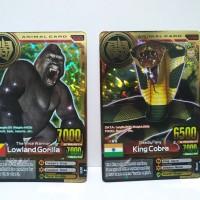Animal Kaiser GoldLowland Gorilla King Cobra ver 4 Rare
