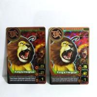 Animal Kaiser King's Insignia ver 4 Rare
