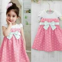 Jual Baju Anak Perempuan / Dress Princes Kids Dress Spandek