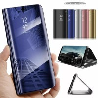 FLIP COVER SAMSUNG A70 2019 MIRROR CASE STANDING PHONE
