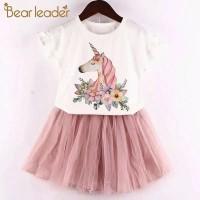 Setelan Baju Anak Perempuan Unicorn 3-5 Tahun model baru