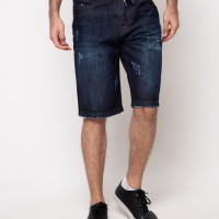 Celana Pendek Jeans Nevada - Celana Pendek Pria Nevada Denim
