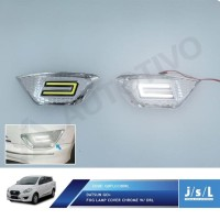 Datsun GO Cover Lampu Kabut JSL Krom/Fog Lamp Cover Chrome with DRL